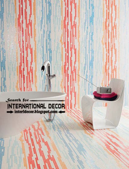 bathroom wall tiles,wall tiles striped, wall tiles design