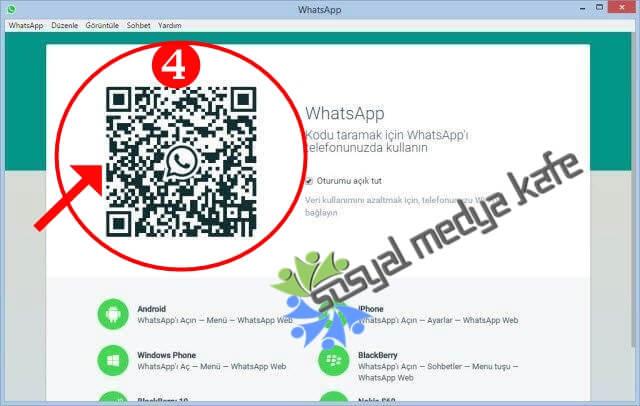 WhatsApp Pc'ye Nasıl Kurulur