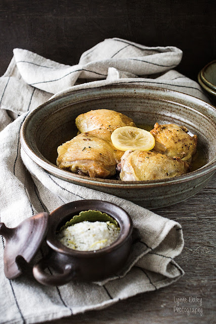 Pollo al Forno Con Limone - Chicken Baked with Lemon