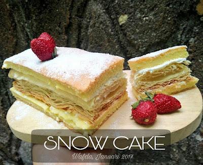 Resep Snow Cake Atau Kue Salju By @dapurwafda