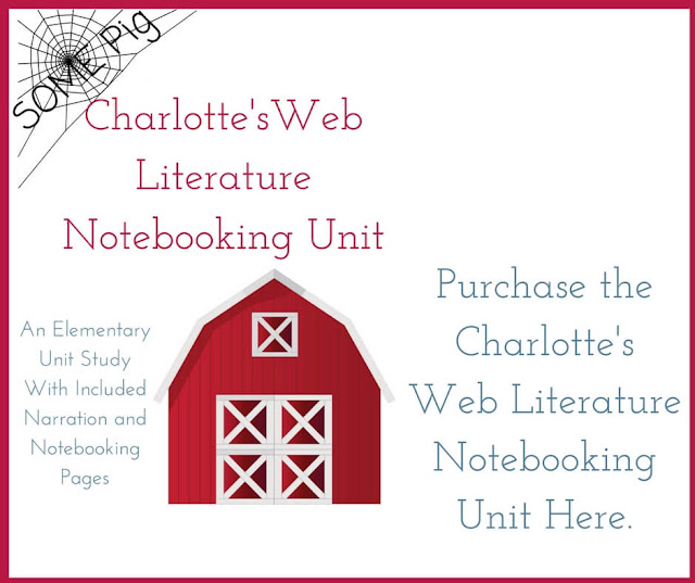 Charlotte's Web literature unit study