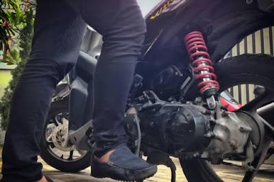 Penyebab Kick Starter Motor Matik Macet Dan Penanganannya