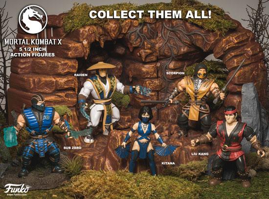 Funko Mortal Kombat 5.5 inch Action Figures