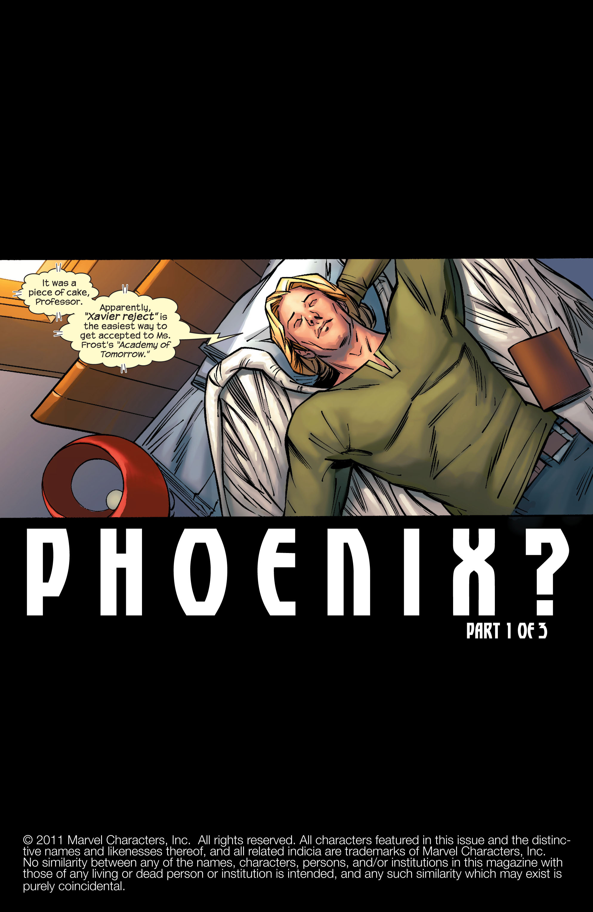Read online Ultimate X-Men comic -  Issue #69 - 2