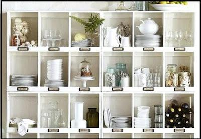 organize kitchen cabinets martha stewart