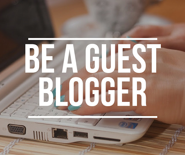Be our guest (blogger) !