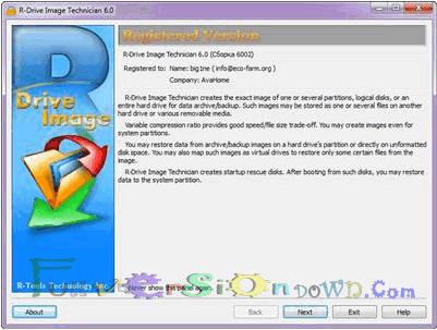 R-Drive Image Technician Full Version