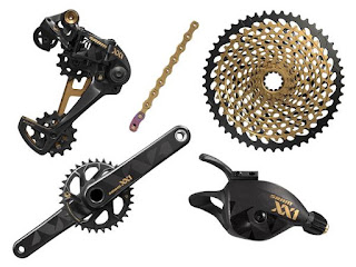 Groupset Sram Eagle 12 Speed Gold
