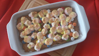 brownie jugoso lacasitos nubes rico pecado receta facil horno cuca