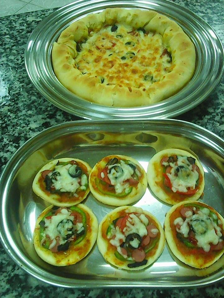 Resep Pizza Mini Sederhana Tanpa Oven Enak