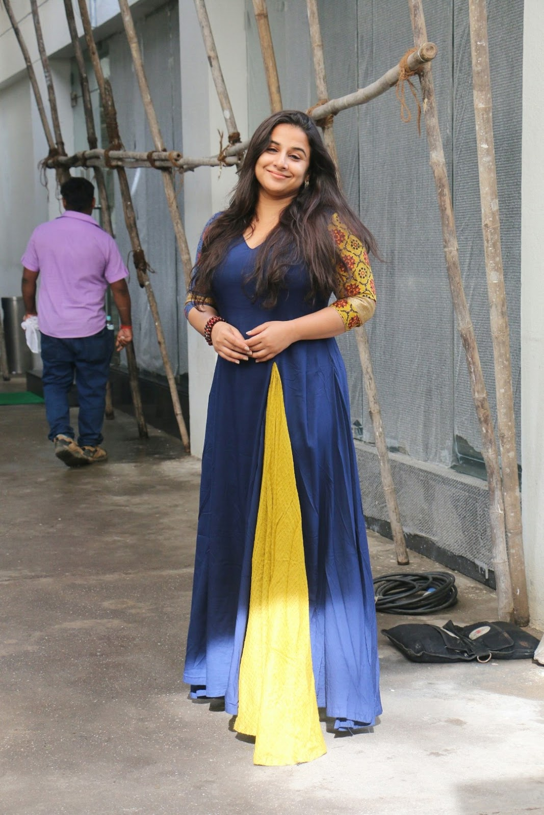 Actress Vidya Balan At Sunny Super Sound Juhu Stills ❤