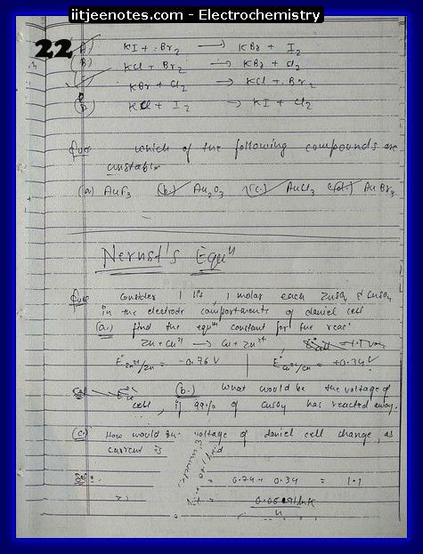 Electrochemistry Notes7