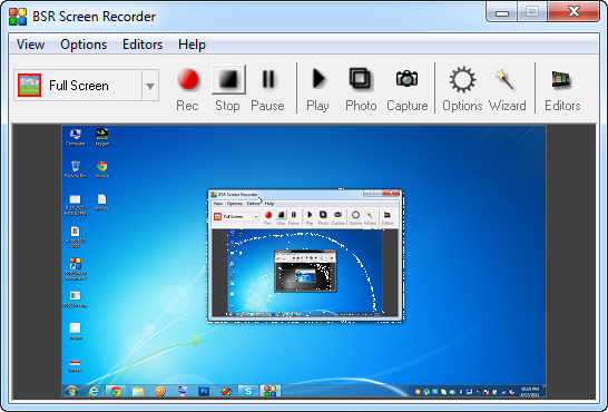 Windows Screen Recorder Free Download
