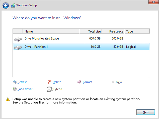 "Cara Mengatasi ""Setup was Unable to Create a New System Partition"" Tanpa Kehilangan Data"