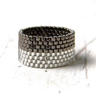 купить украшения из бисера россия симферополь кольцо ручной работы