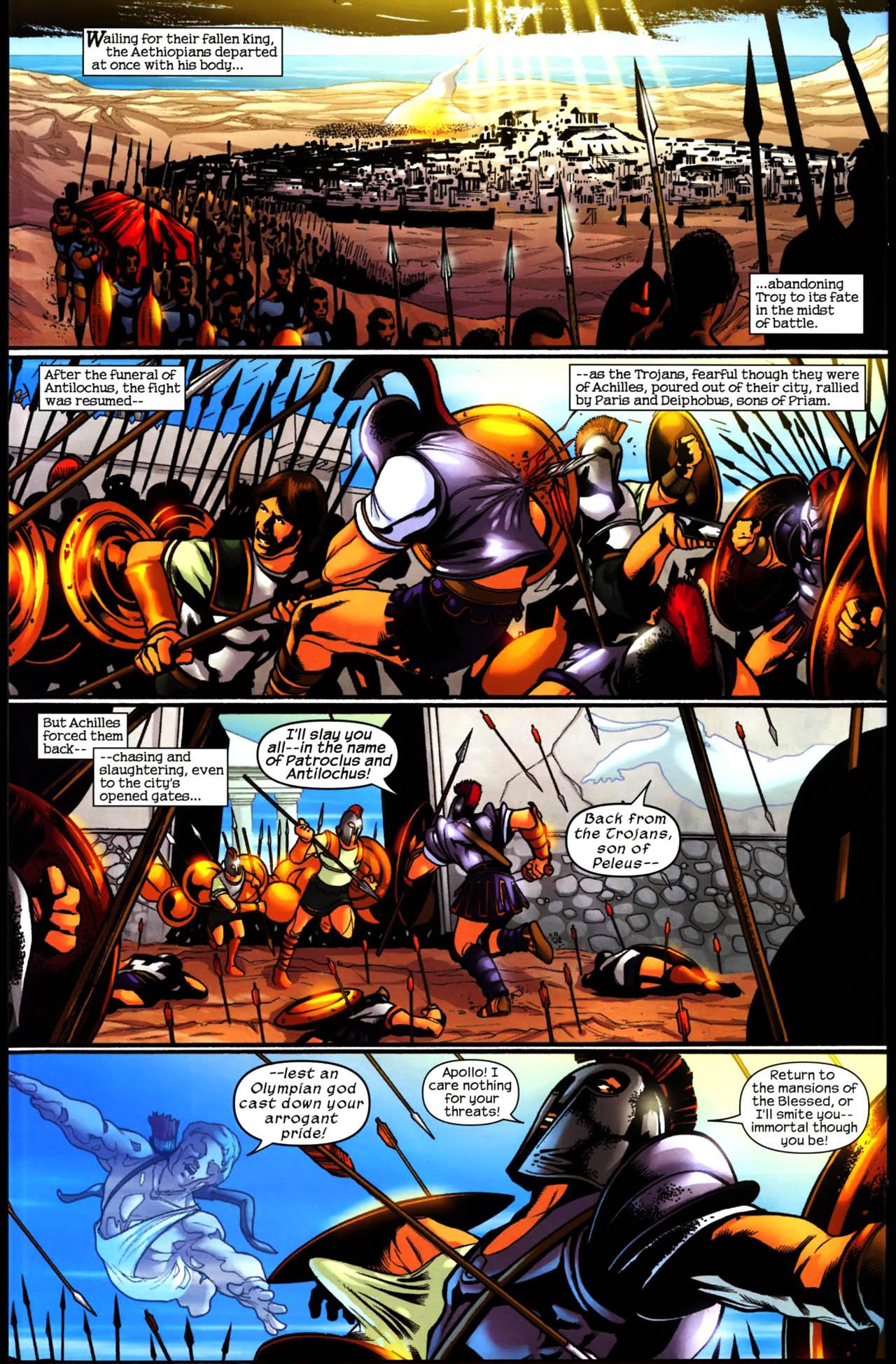 Read online Trojan War comic -  Issue #3 - 19