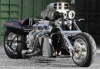 moto muy inusual