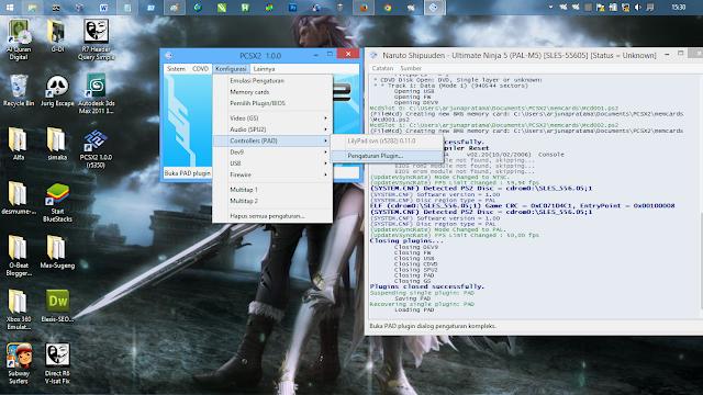 Cara Setting Emulator PS2