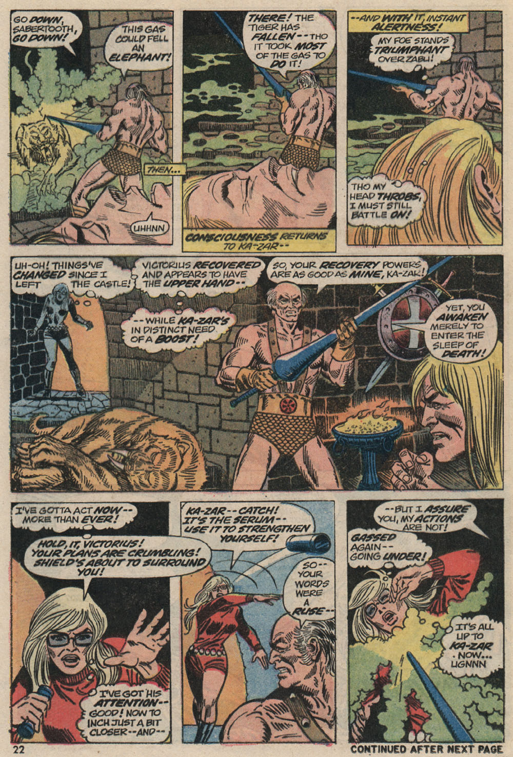 Read online Astonishing Tales (1970) comic -  Issue #20 - 16