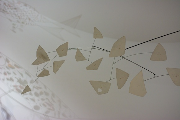 Alexander Calder's Mobile in the National Gallery of Art, Washington, DC