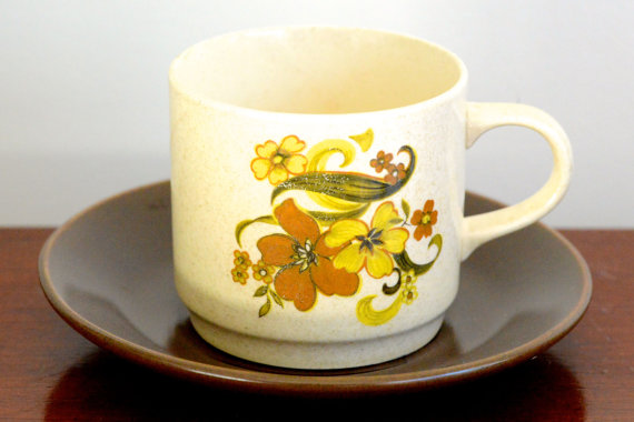 vintage Johnson of Australia cup and saucer