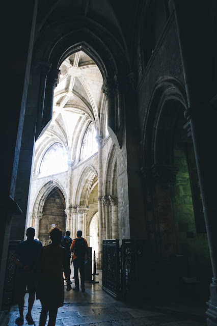 リスボン大聖堂(Sé de Lisboa)|身廊(Naves medievais)