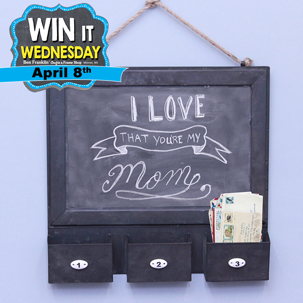 Win It Wednesday Prize for Apr. 8, 2015