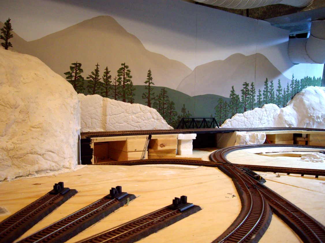 Ty 39 s model railroad the backdrop - Model railroad backdrops ...