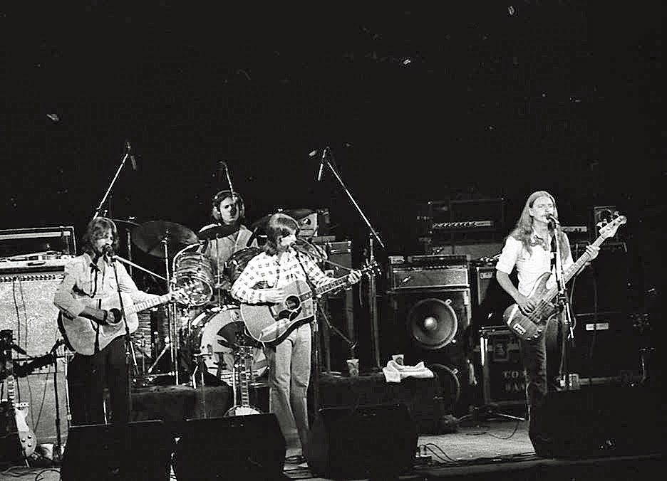 Kinderhook on stage at the Capitol Theater New Jersey 1977