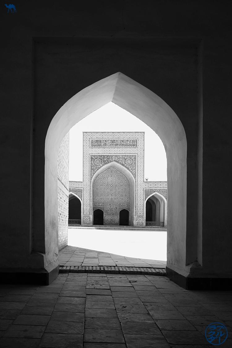 Le Chameau Bleu - Blog Voyage Ouzbékistan - intérieur de la Mosquée Kalan  - Asie Centrale