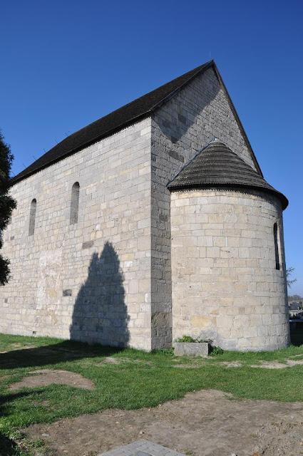 romański kościół w Siewierzu