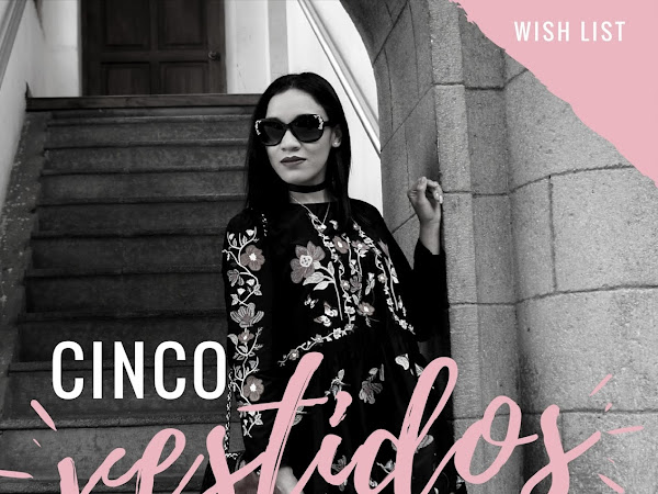 5 vestidos en tendencia - wish list