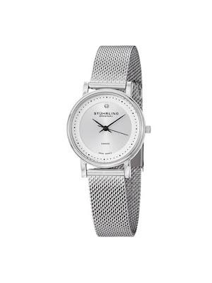 Reducere Ceas dama elegant argintiu Stuhrling Original Lady Casatorra Elite 734LM.01