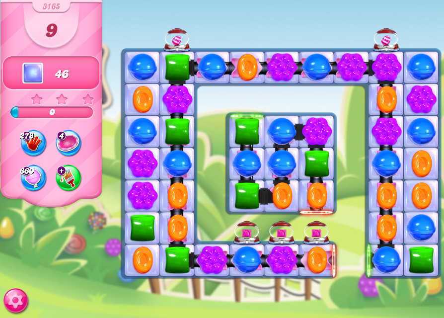 Candy Crush Saga level 3165