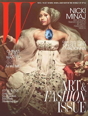 Nicki Minaj Looking Completely Different As She Covers W.Magazine 5