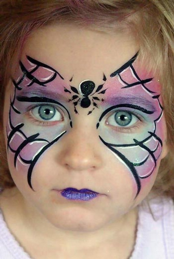 Malevolent Spider Halloween Makeup Idea