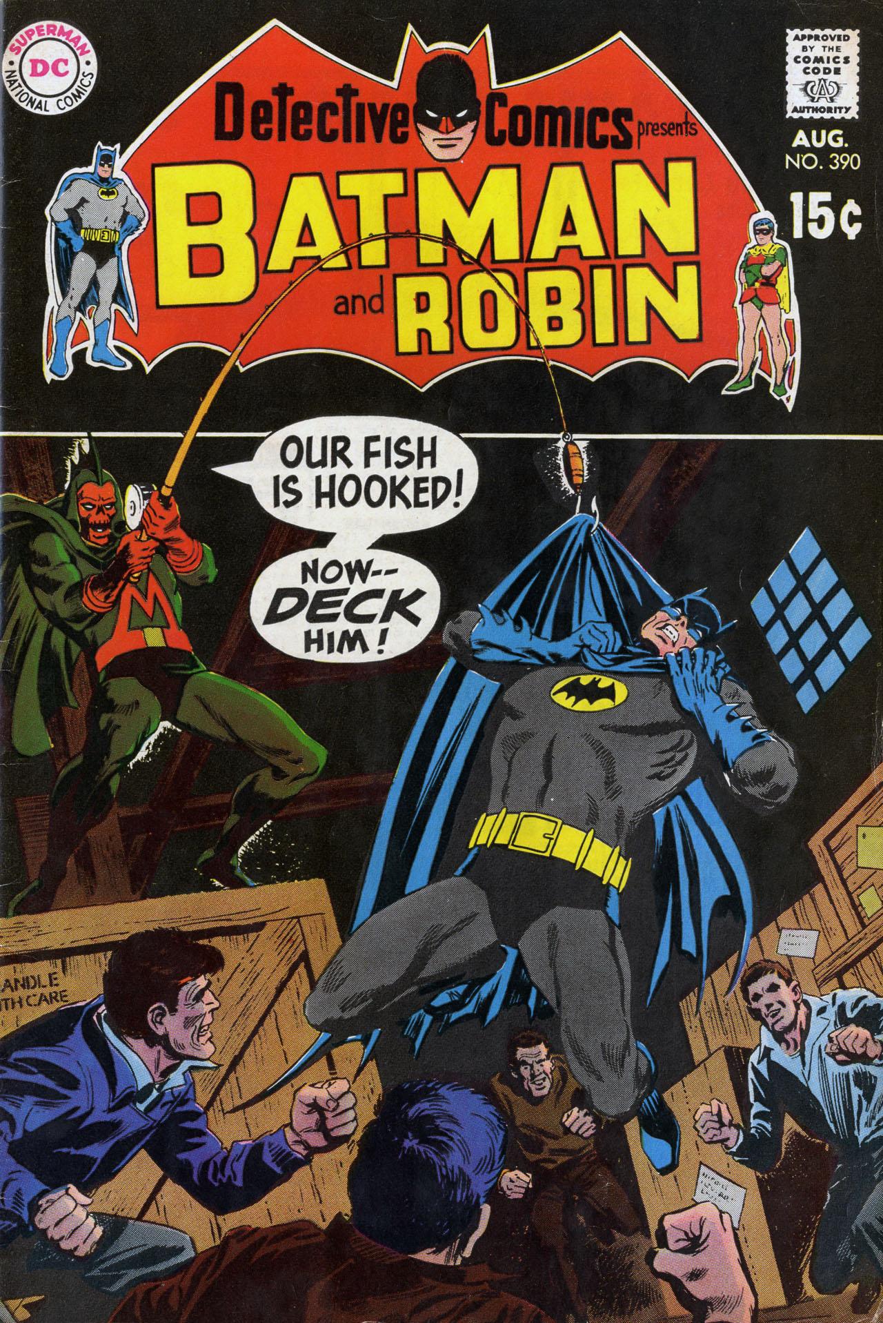 Detective Comics (1937) 390 Page 0