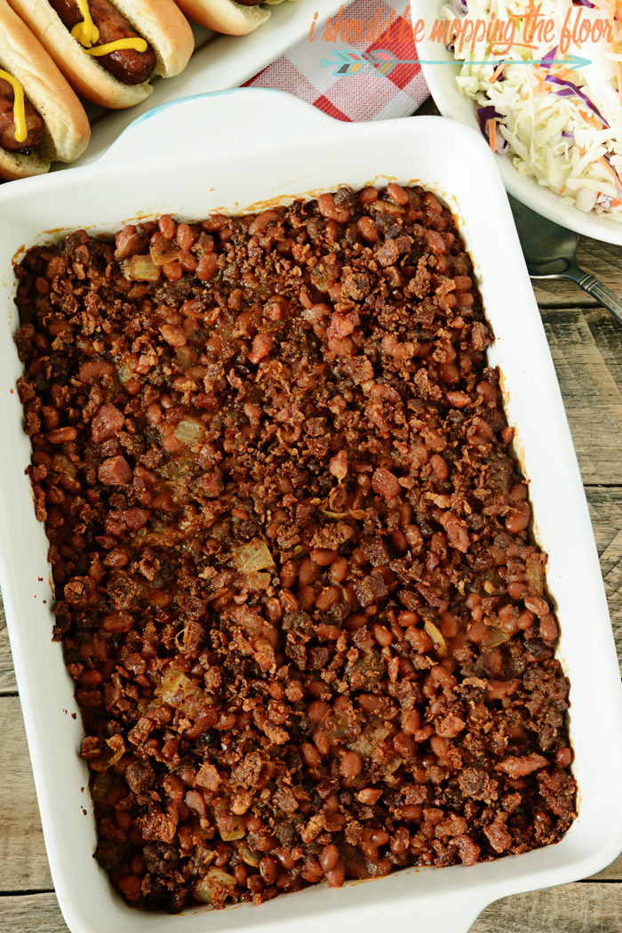 Cowboy Beans Recipe: the perfect easy and delicious side dish for your next grill out.