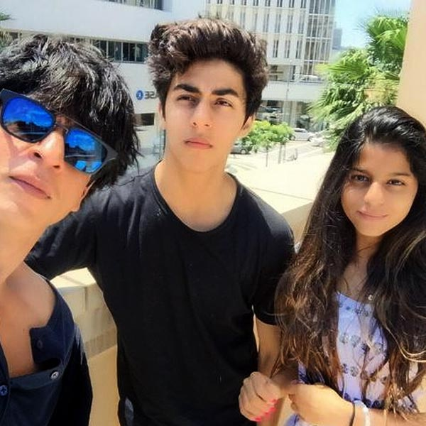 srk with suhana khan