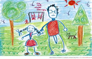 11 desenhos de crianças indefesas que indicam que elas sofreram abuso sexual