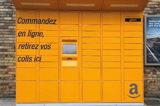E-commerce : les casiers Amazon Locker arrivent en France
