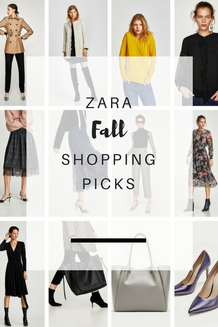 What to buy from Zara this Fall | Ioanna's Notebook