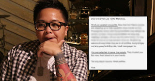 Aiza Seguerra Open letter to Gov Mendoza Gone Viral, Must Read