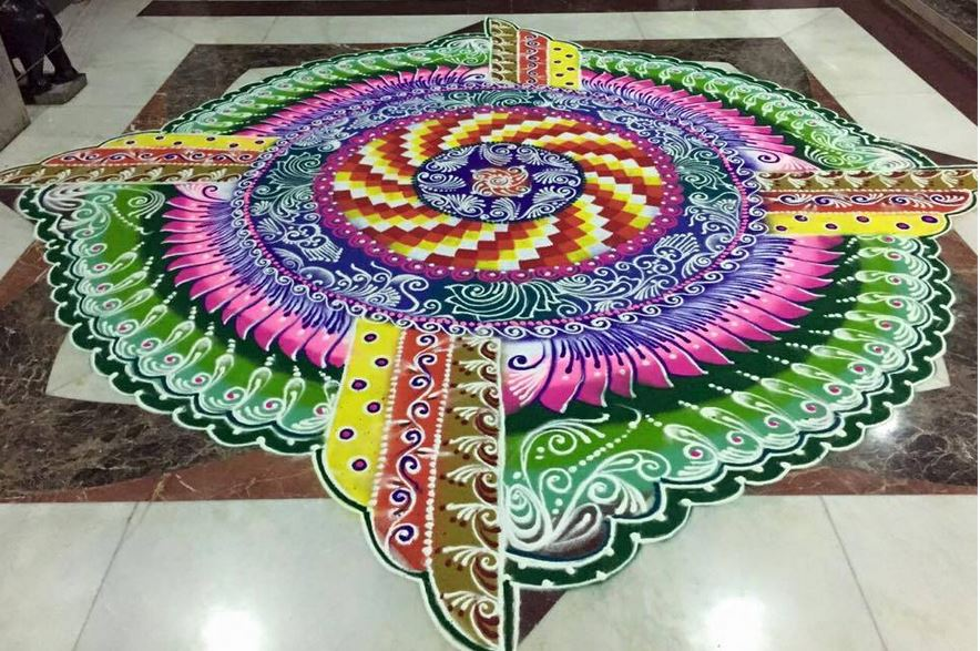 New Rangoli Designs 2017