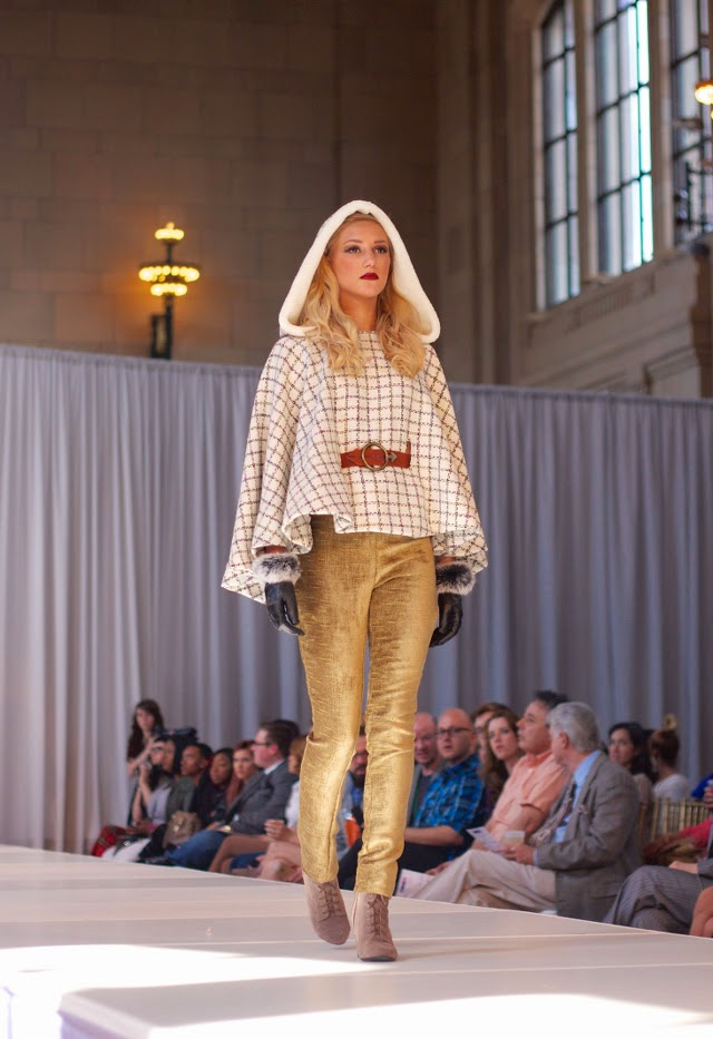 Andrea Marie Long Designs cape at KCFW 2014