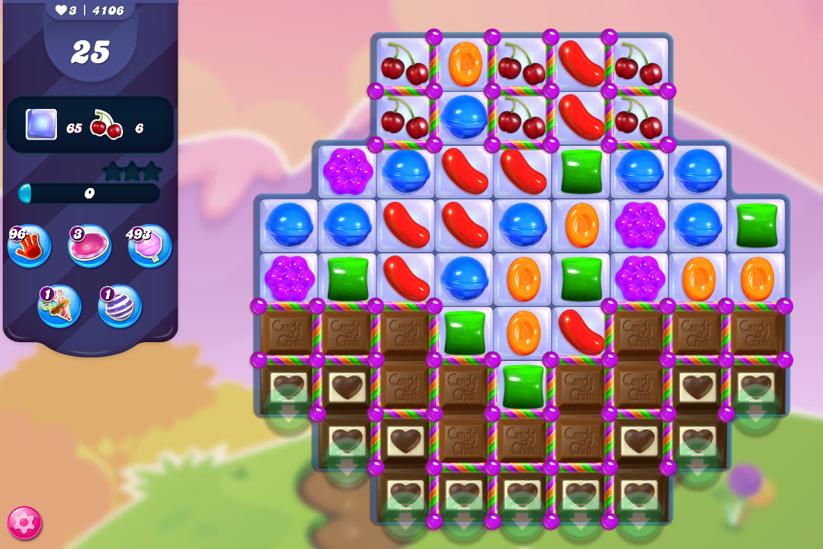 Candy Crush Saga level 4106