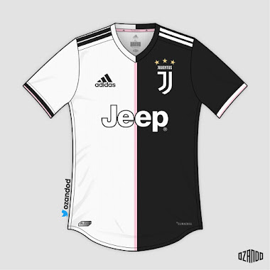 60e56bcde Revolutionary? Juventus 19-20 Home Kit Concepts by OZANDO - Footy ...