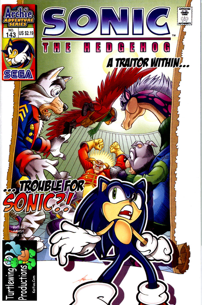 Read online Sonic The Hedgehog comic -  Issue #143 - 1