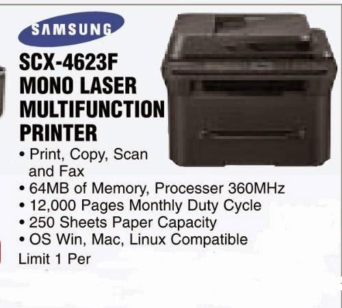 Samsung scx-4623f all-in-one printer | printer driver download.