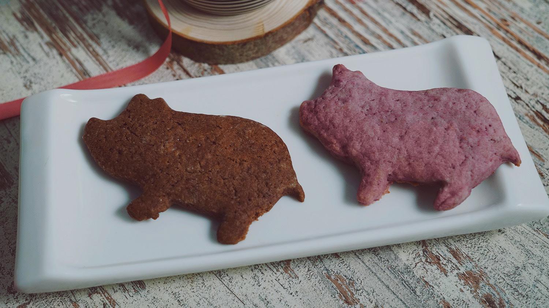 KuneCoco • Rezept • Himbeer-Schoko-Kekse